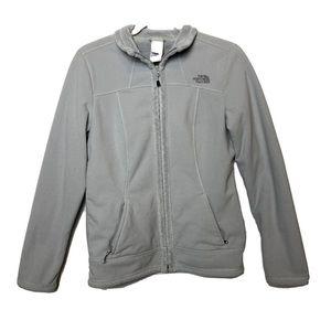 North face gray jacket Medium